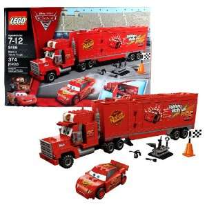 Lego Year 2011 Disney Pixar Cars 2 Movie Scene Set #8486