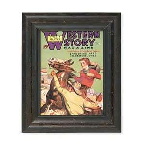 Western Story Framed Print: Baby