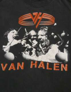 80s VAN HALEN For Unlawful Carnal Knowledge CONCERT Tour T Shirt L W2
