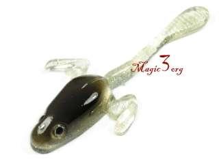 7XSoft Lure Polliwog Frog Fishing Bass Bait 1/5 OZ SFAE1
