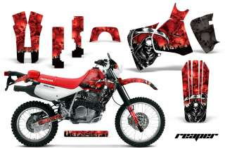 GRAPHICS KIT STICKER MOTO DECAL HONDA XR650L XR 650L PARTS REAPER RED
