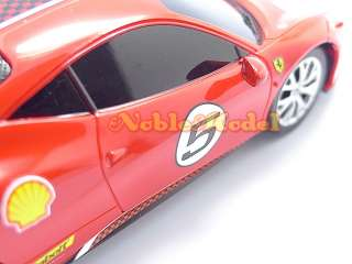 XQ 132 R/C Remote Control Ferrari 458 Challenge Car Model Kit |