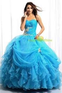 NEW Elegant Ball Gown Evening Prom Wedding Bridal Bridesmaid Dress