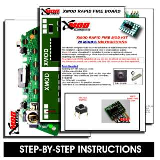 XMOD Rapid Fire Kit   20 mod  3 PK   DROP SHOT   JITTER