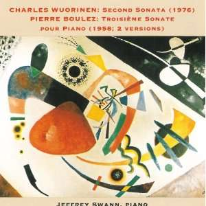 Charles Wuorinen Second Sonata (1976) / Pierre Boulez