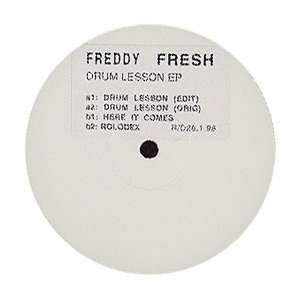 Drum Lesson E.P. Freddy Fresh Music