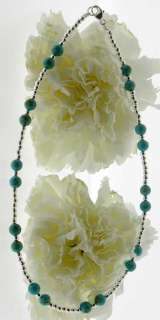 TURQUOISE Sterl Silver Bracelet/Ankle Bracelet (2174)