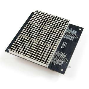2416 Red LED 3mm Dot Matrix Display Information Board