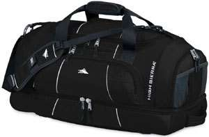 Cross Sport Colussus 26 Duffel Gym Bag Converts to Backpack Black
