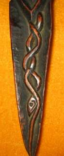 Wonderful Rare Old Antique Unique Tibetan Buddhist Carved Wooden
