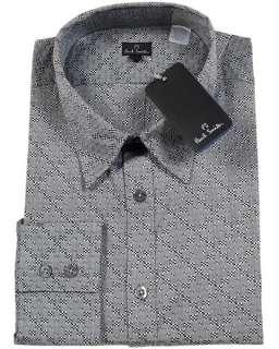 290 PAUL SMITH Mens Button Dress Shirt S Cotton Checks