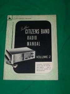 CB CITIZEN BAND RADIO MANUAL VOL 2 BOOK HOWARD SAMS NEW