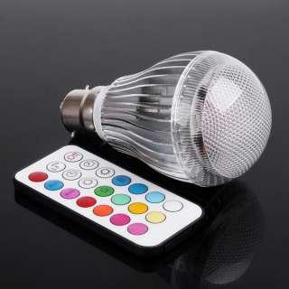 GU10/MR16/B22/E27 LED RGB Light Bulb + Remote Control 2 Million Colors