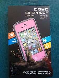 iPhone 4/4S Case Pink & Gray, 2nd generation Apple Life Proof