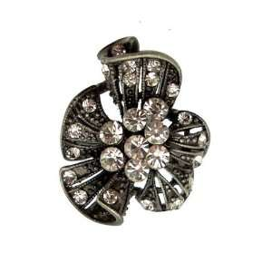 Acosta Jewellery   Antique Silver Coloured with Crystal