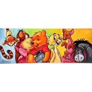 Winnie the Pooh Hundred Acre Friends Disney Fine Art