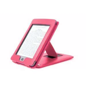 DURAGADGET Pink Genuine Leather Case & Cover With Stand