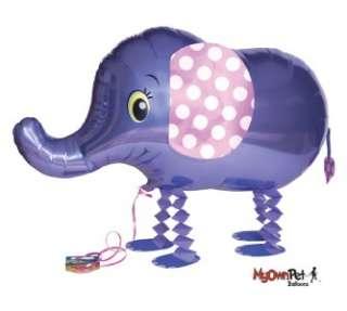 POLKA DOT ELEPHANT PHOTO FRAME HOLDS 2x2 PICTURE Baby Boy Shower Gift