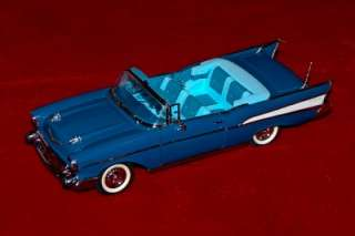 DANBURY MINT DIE CAST EXACT REPLICA 124 CHEVROLET BEL AIR 1957