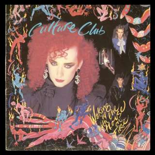 CULTURE CLUB   SPAIN LP   WAKING UP WITH HOUSE ON FIRE