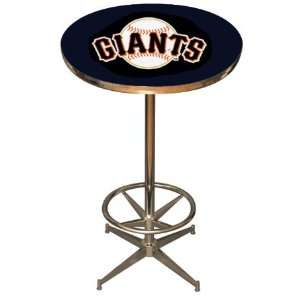 San Francisco Giants Team Pub Table