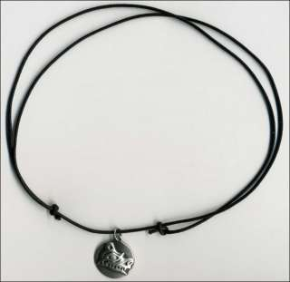 NEW Native Pewter Haida BEAR Strength Symbol Necklace