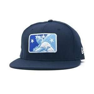 League Logo 59FIFTY Fitted Cap   Light Navy 7 1/2