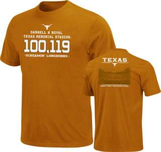 Texas Longhorns Dark Orange Earned on the Field T Shirt