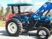 Ford New Holland 3930 Diesel Farm Tractor With Loader 529 Hours