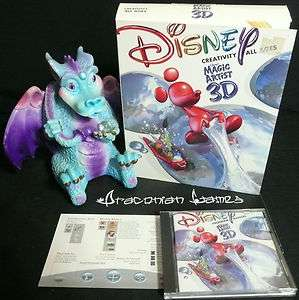 Disneys Magic Artist 3D Big Box Win95/98 MAC 8.6   11422