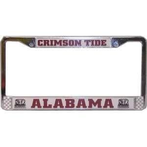Alabama Crimson Tide Chrome Auto Frame *SALE* Sports