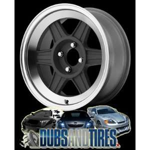 MOTEGI RACING wheels MR124 Mag Gray Machined wheels rims Automotive