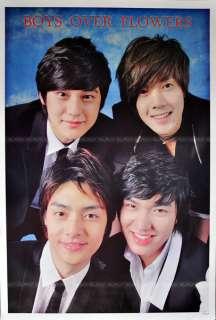 F4 Boys over Flowers Korean Series Poster 60x90 cm
