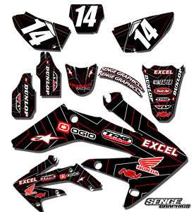 CRF 450R GRAPHICS KIT HONDA CRF450R 450 R DECO DECALS STICKERS