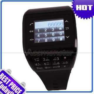 NEW Q8+ Wrist Watch Cell Phone Mobile /4 Spy Camera