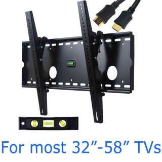 Tilt Plasma LCD LED TV Mount for Samsung UN46D7000L PN51D8000F