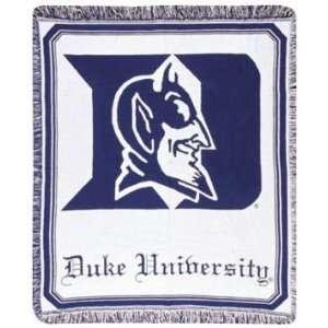 Duke University Blue Devils NCAA Afghan Throw
