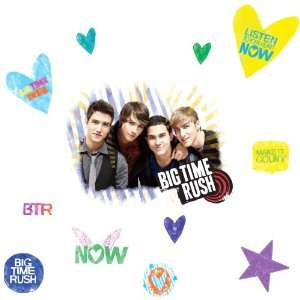 ROOMMATES RMK1579GM Big Time Rush Peel & Stick Giant Wall