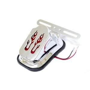 Chrome Fits Harleys, Choppers, Custom High quality Chrome Tail light