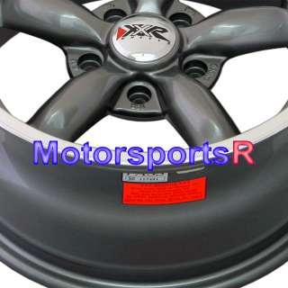 16 16x8 XXR 512 Gun Metal Rims Wheels Deep Dish Stance 06 11 Honda