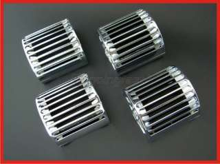 93 00 VAUXHALL OPEL CORSA B REPLACEMENT CHROME AIR VENT