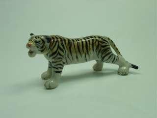 Porcelain Miniature Animal Jungle Wild Life Tiger #122