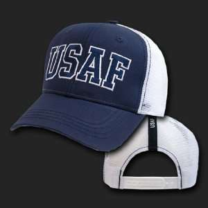 USAF U.S. AIR FORCE HAT CAP MESH U.S. MILITARY CAPS