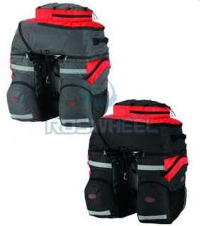65L Cycling Bicycle Bag Bike rear seat bag pannier