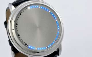 LED Watch Our Original Abyss in new cool steel design Hour and Minute