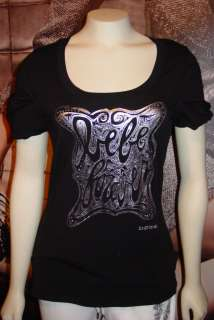 BUY NOW *xs*s*m*l* BEBE LOGO tee shirt top *black* tons