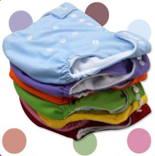 Wholesale One Size Adjustable Baby Washable Cloth Diaper Nappies