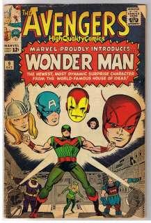AVENGERS #9, Thor,Iron Man,Wasp, Jack Kirby,1963,VG/VG+