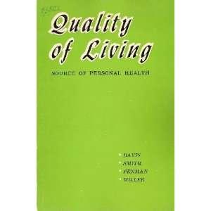 Craig Davis, Lenore C Smith, Kenneth A Penman, Donna Mae Miller: Books