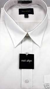 Neil Allyn White Dress Shirt